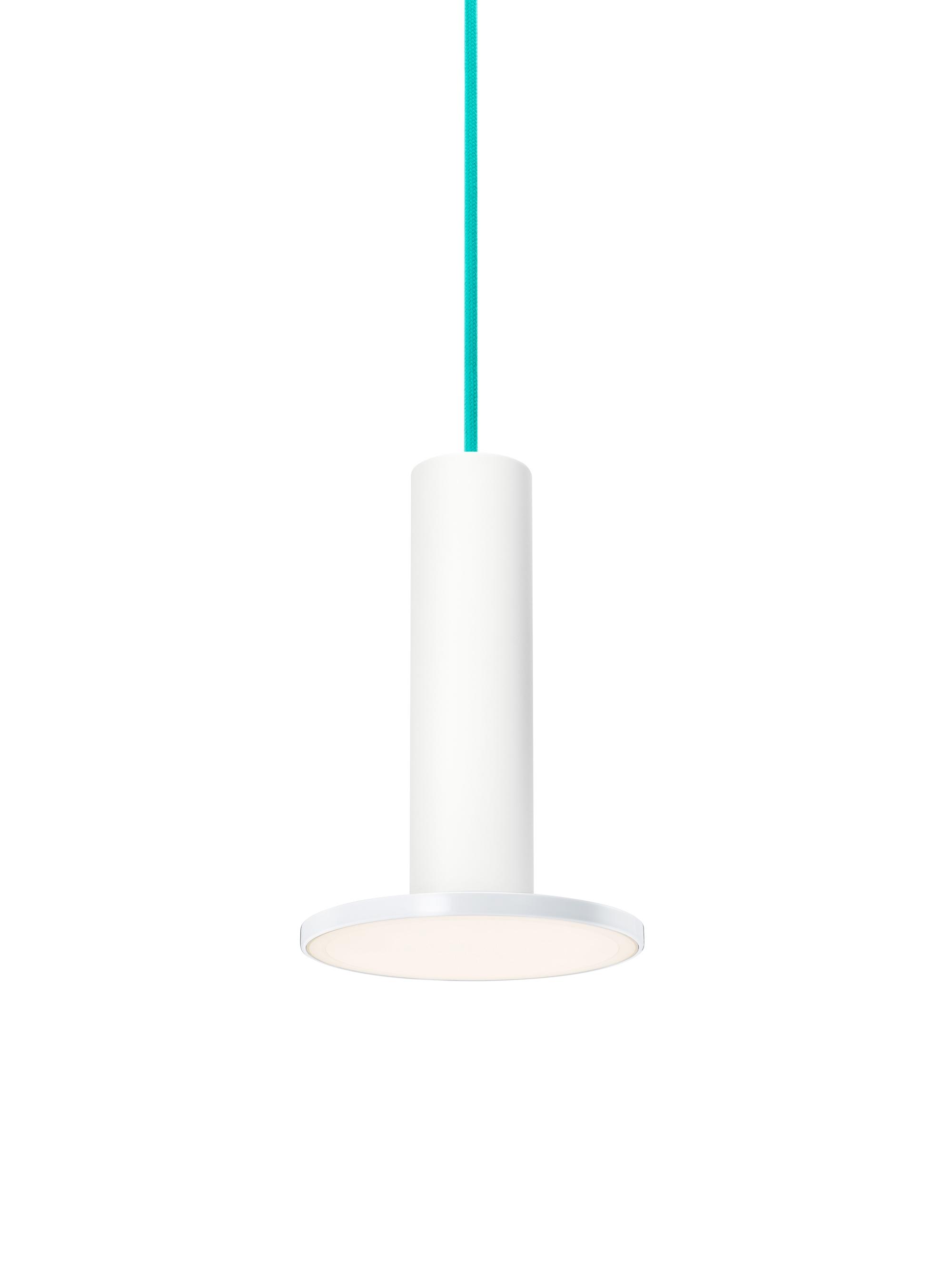... White / White / Turquoise Cord