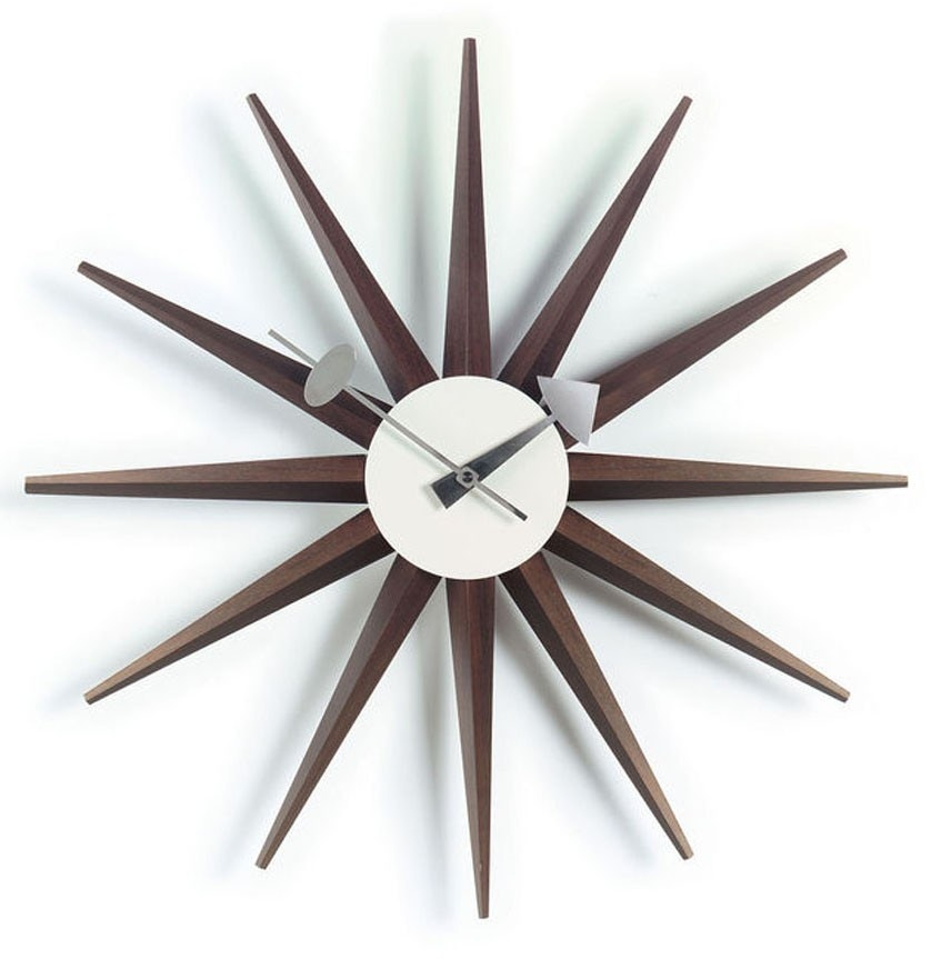 george nelson sunflower clock by vitra ceramic night desk re