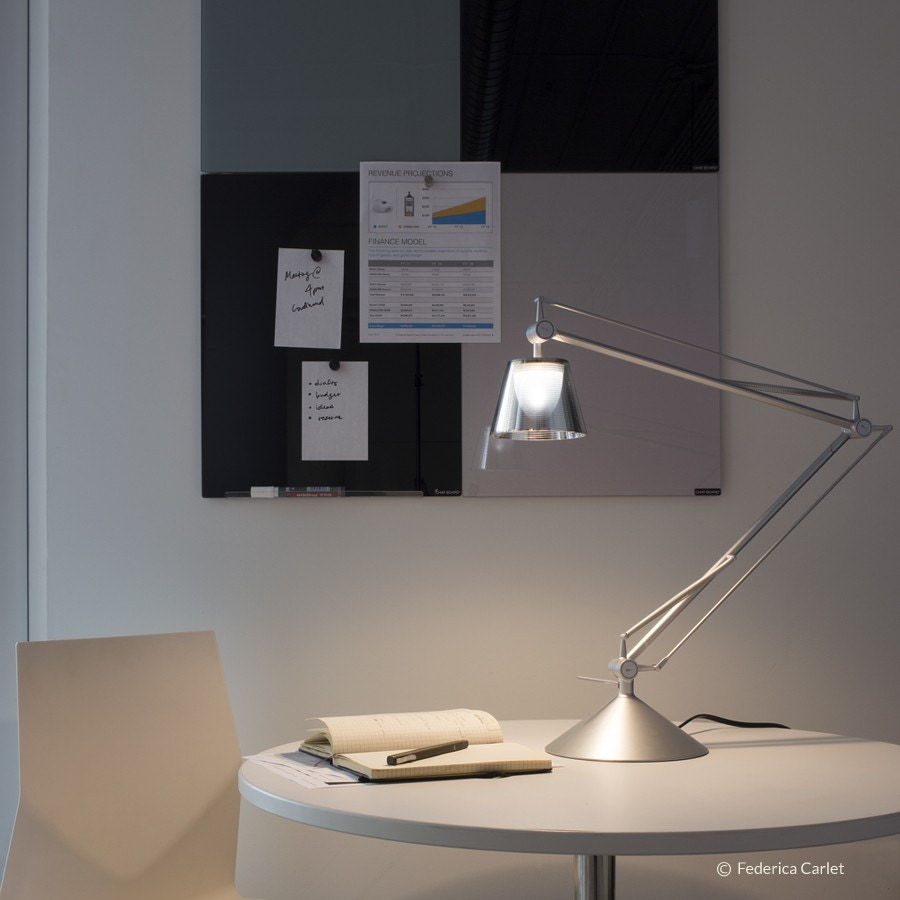 Flos archimoon k table wall lamp flos shop by brand for Archimoon k table lamp