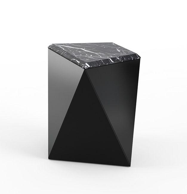 Knoll David Adjaye Washington Prism Side Table Modern