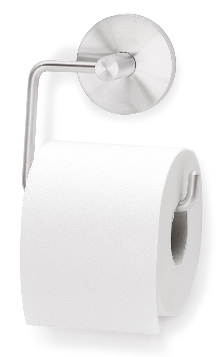 blomus primo toilet paper holder wall mount narrow roll only  -
