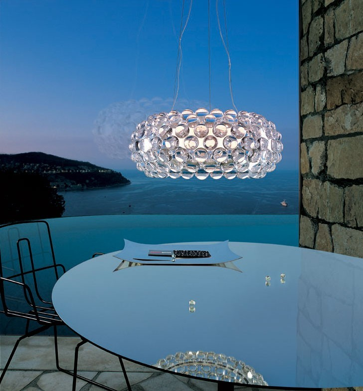 foscarini caboche suspension lamp modern planet. Black Bedroom Furniture Sets. Home Design Ideas