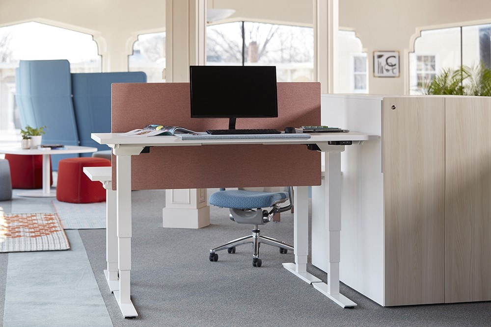 Haworth Hop Sit To Stand Desk