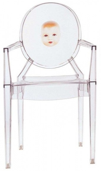 kartell louis ghost chair with theme priced each sold in sets of 2