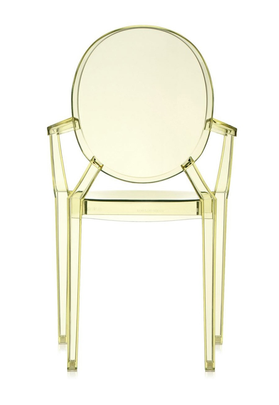 Kartell Lou Lou Ghost Chair (Priced Each, Sold in Sets of 4 ...