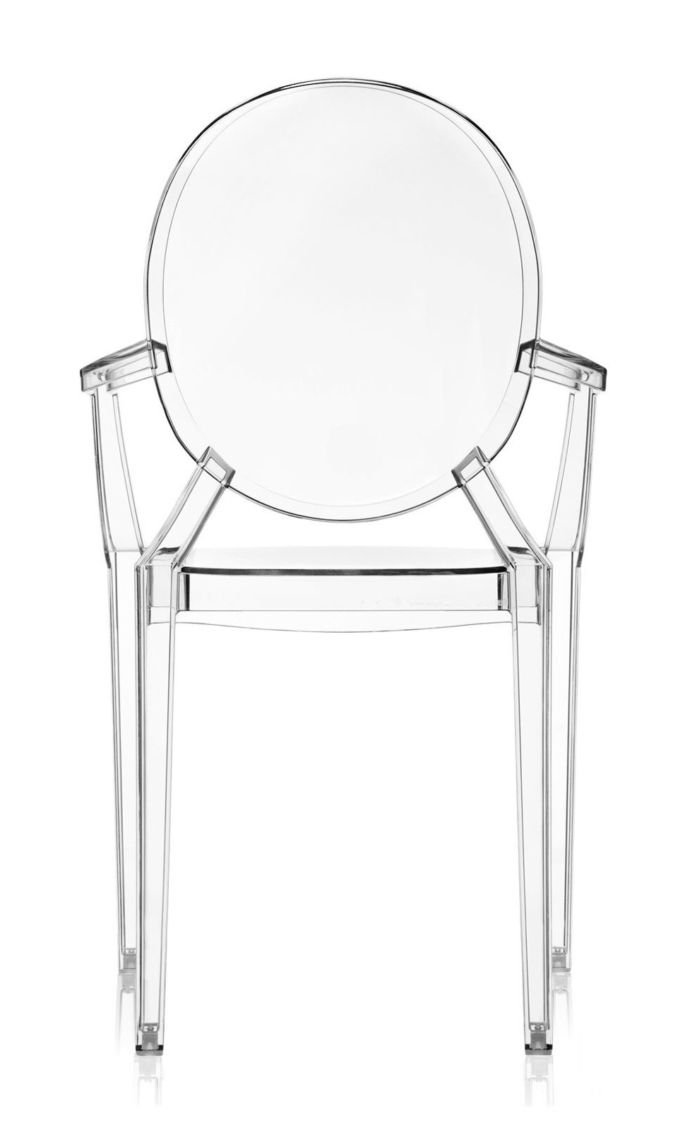 Poltrona Kartell Louis Ghost.Kartell Louis Ghost Armchair Crystal Priced Each Sold In Sets Of 4