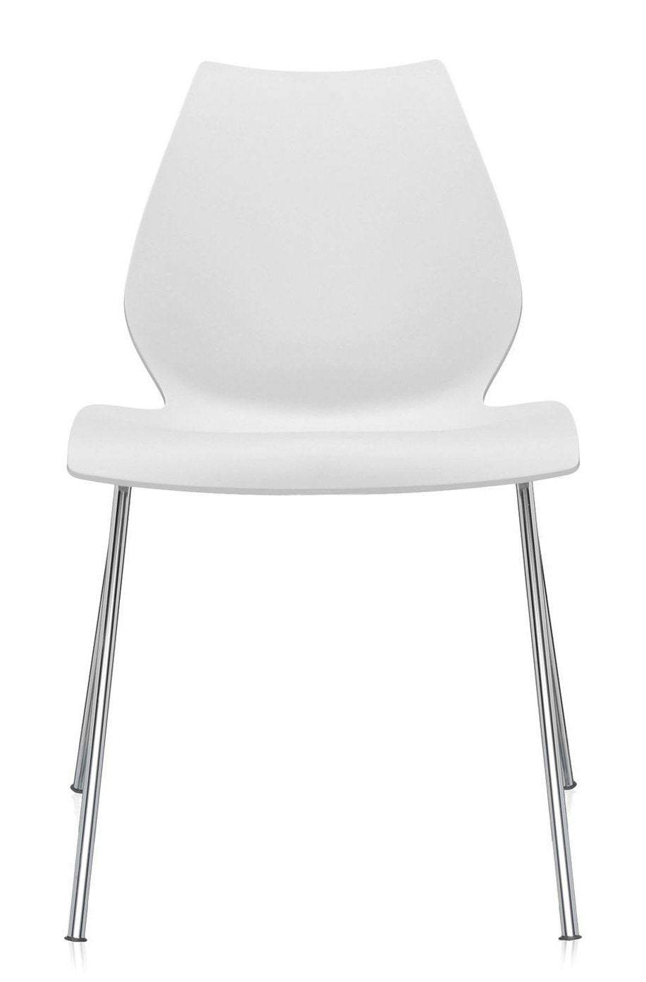kartell maui chair armless priced each sold in sets of 2 modern