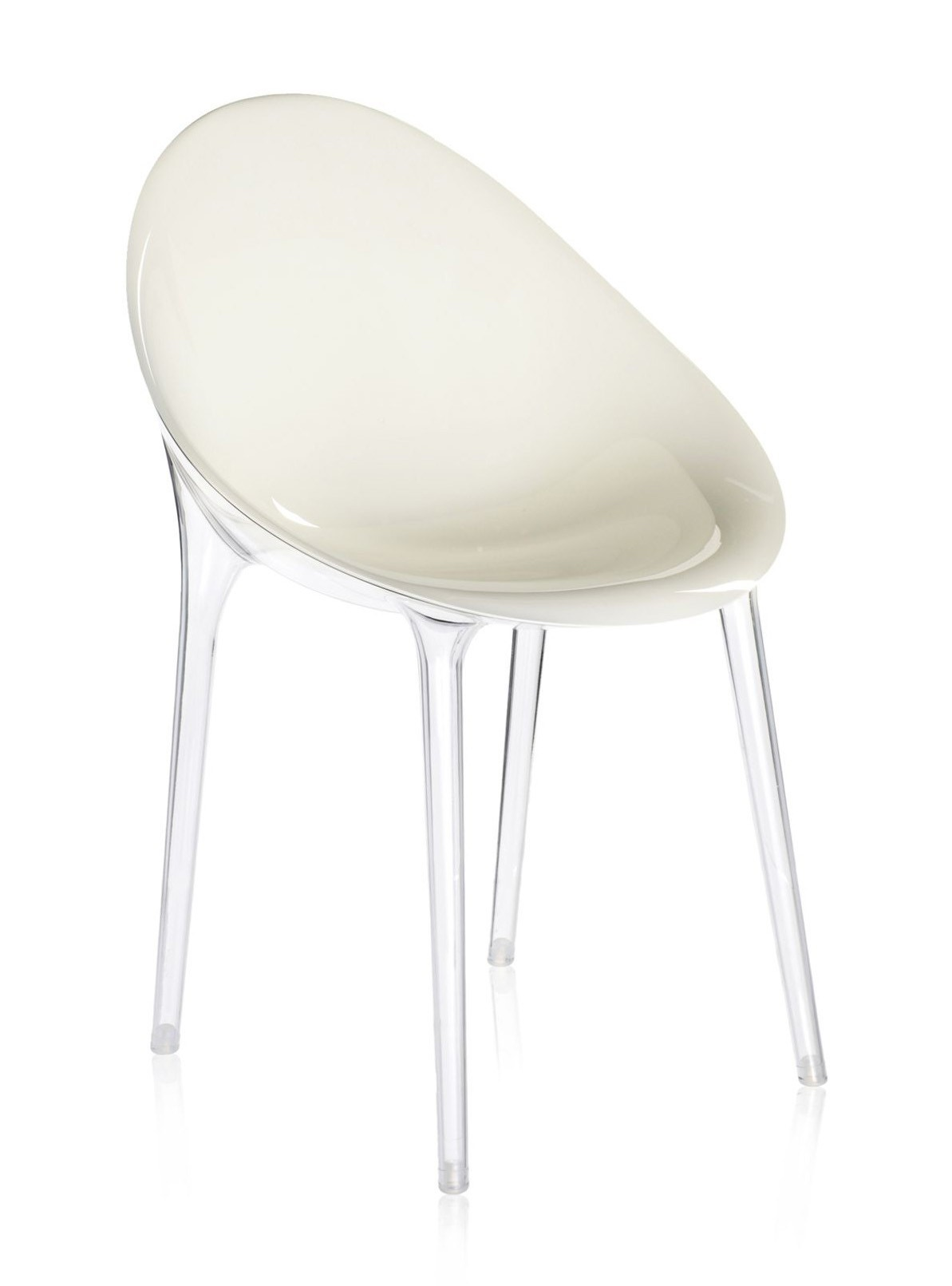 kartell mr impossible chair  modern planet -  mr impossible chair