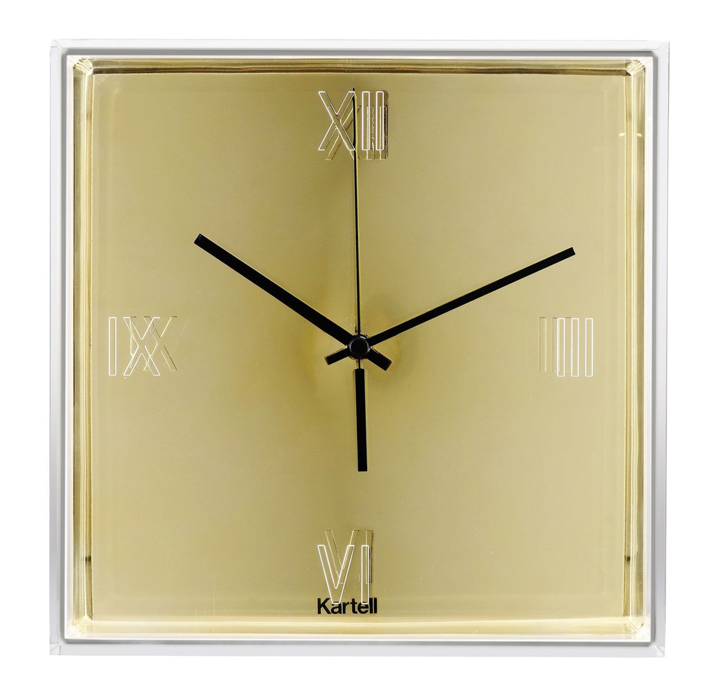 kartell tic  tac wall clock (priced each sold in sets of   -