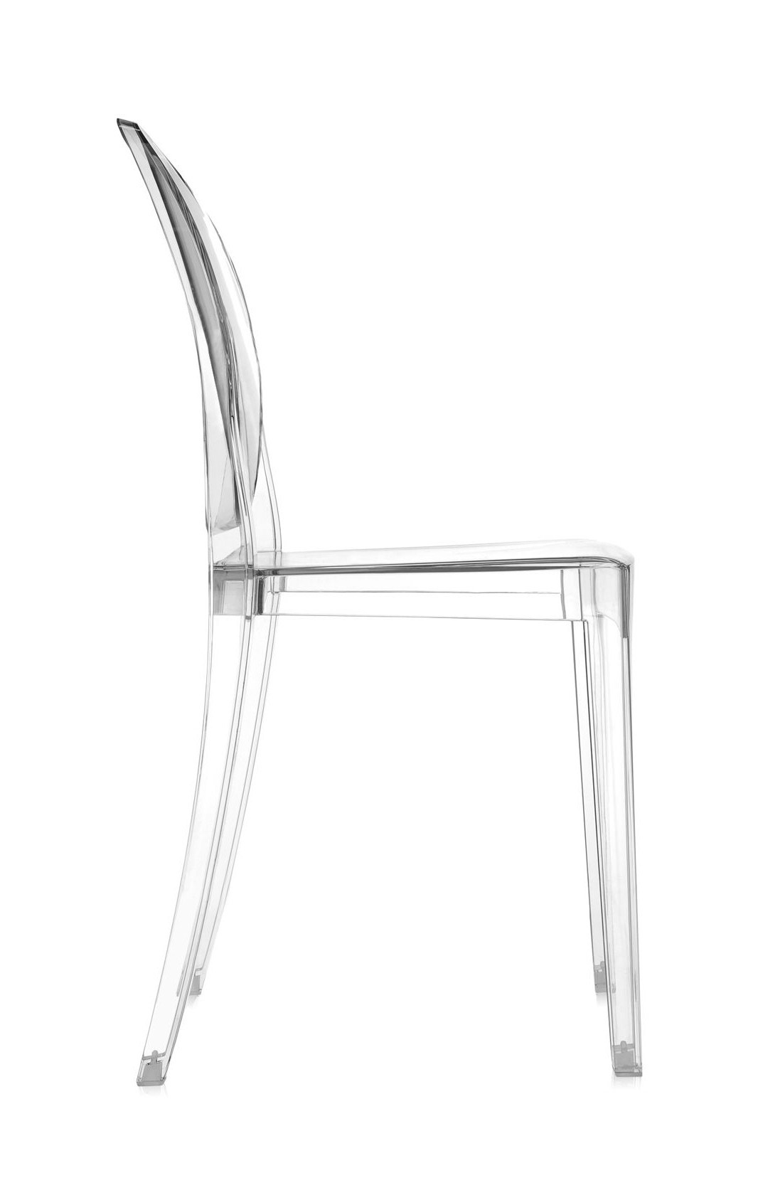 Kartell Victoria Ghost Chair - Crystal (Priced Each, Sold in Sets of ...
