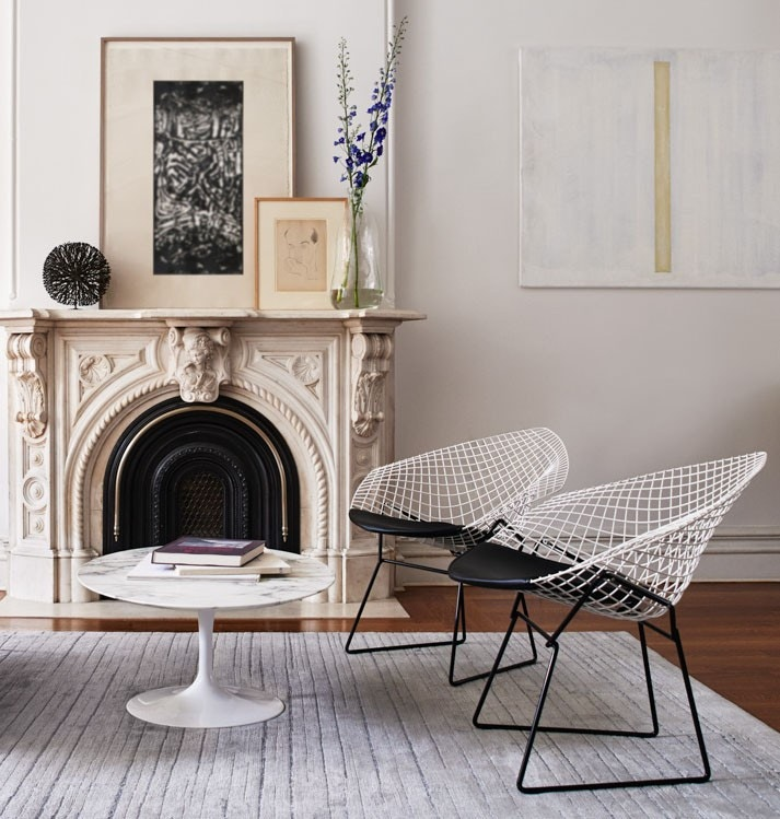 Pleasant Knoll Harry Bertoia Diamond Lounge Chair Squirreltailoven Fun Painted Chair Ideas Images Squirreltailovenorg