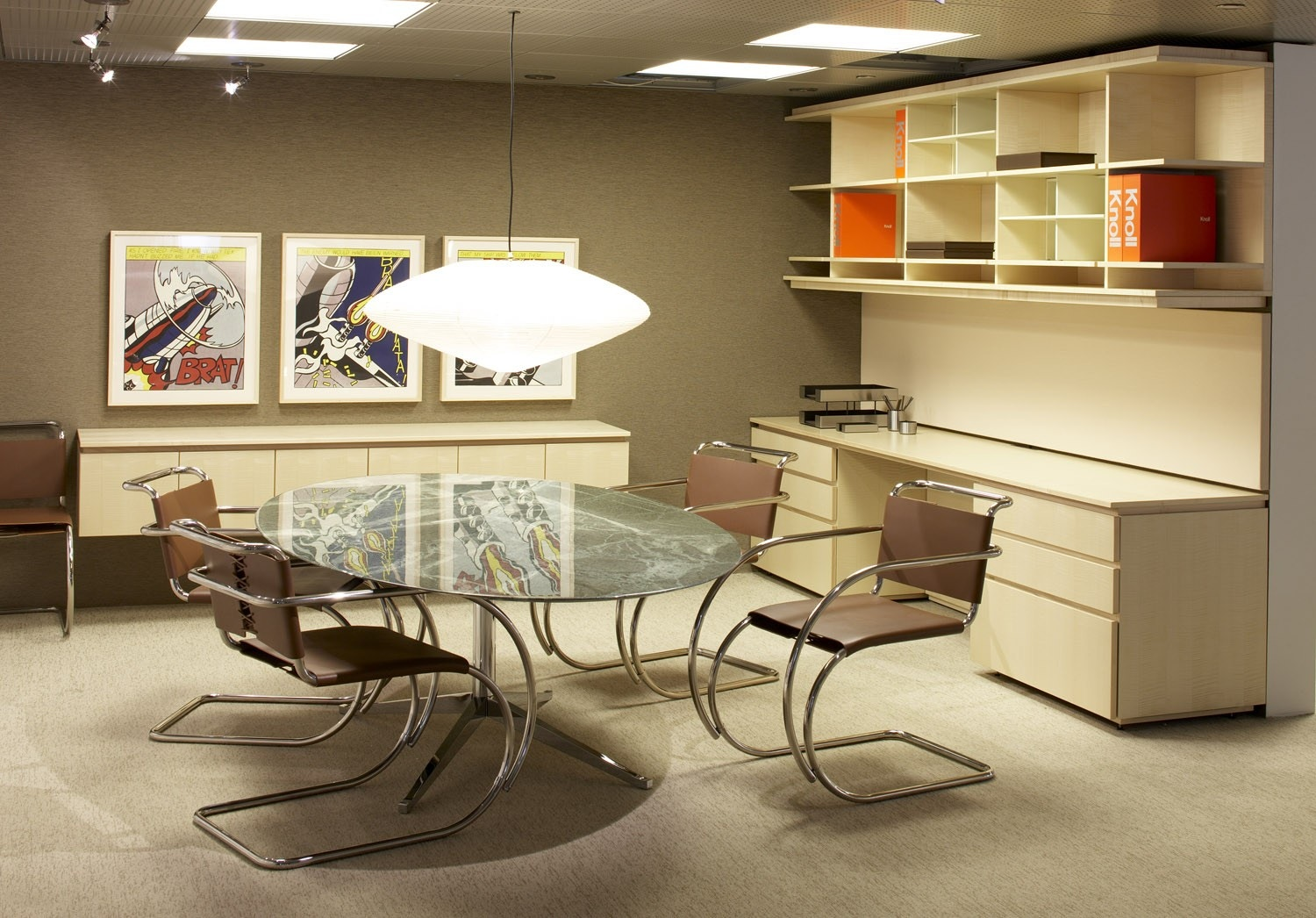 Genial ... Knoll Florence   Oval Table Desk. 1