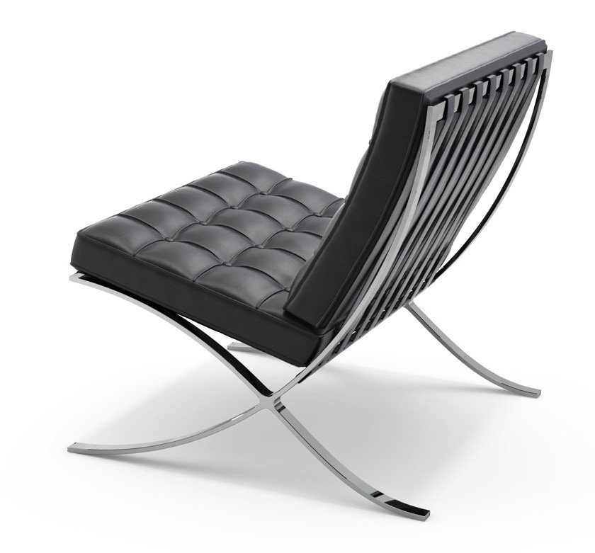 Poltrona Barcelona Knoll.Knoll Ludwig Mies Van Der Rohe Barcelona Relaxed Lounge Chair