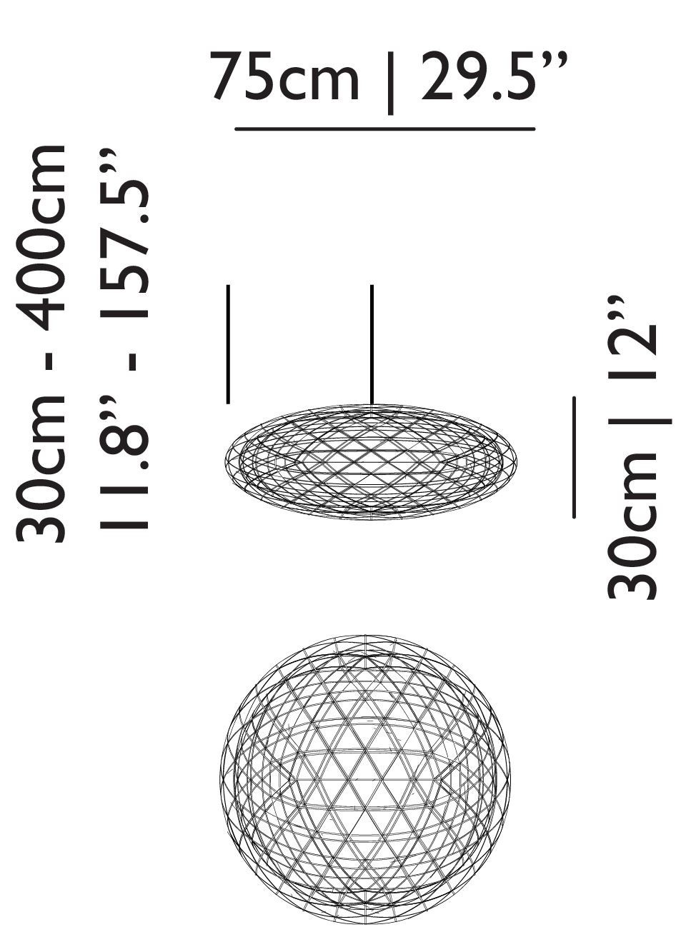 Moooi Raimond Zafu Suspension Lamp - Modern Planet for Moooi Raimond Zafu  143gtk