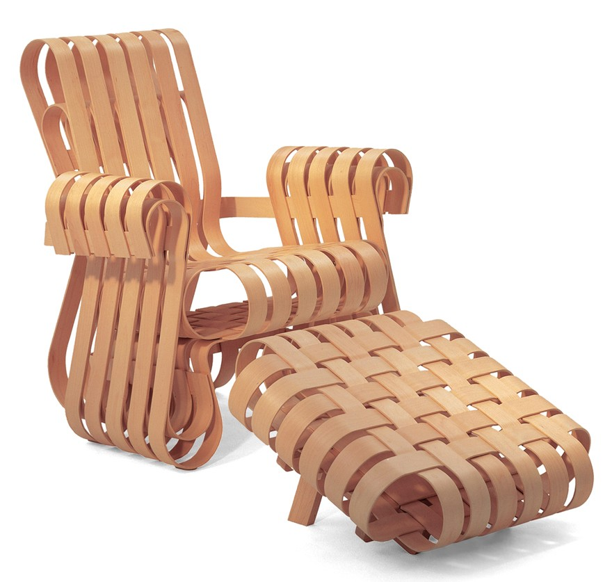 Superb Knoll Frank Gehry Off Side Ottoman Ncnpc Chair Design For Home Ncnpcorg