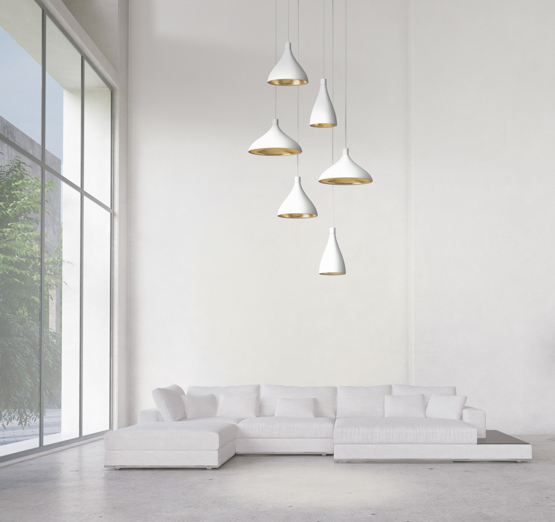 Pablo Swell 2 Chandelier Mix Pendant Lamp Modern Planet