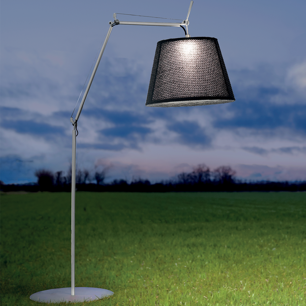 artemide tolomeo mega outdoor floor lamp modern planet. Black Bedroom Furniture Sets. Home Design Ideas