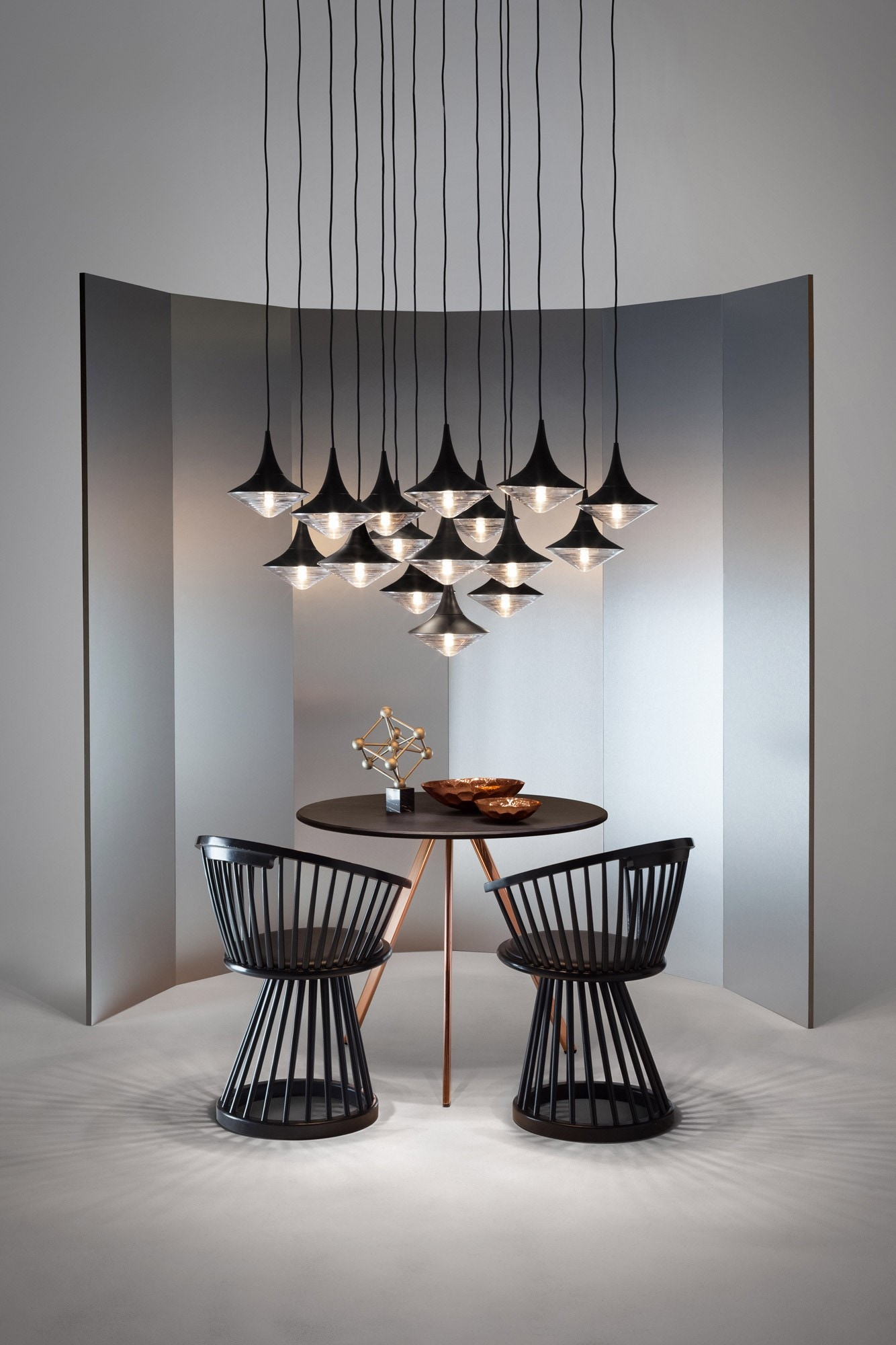 tom dixon fan dining chair tom dixon shop by brand. Black Bedroom Furniture Sets. Home Design Ideas