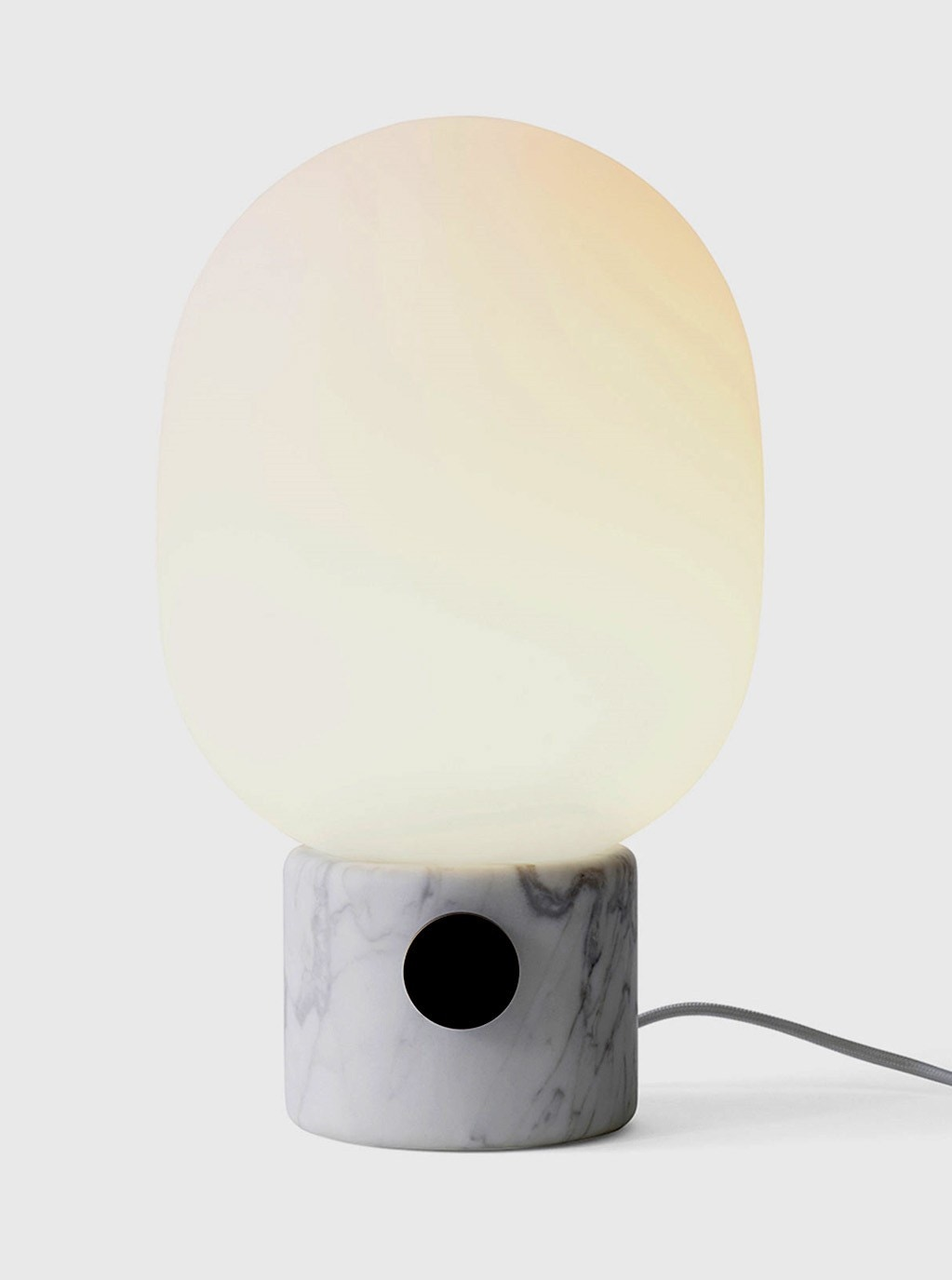 y white jonathan lamp brass adams lamps gold table in marble p
