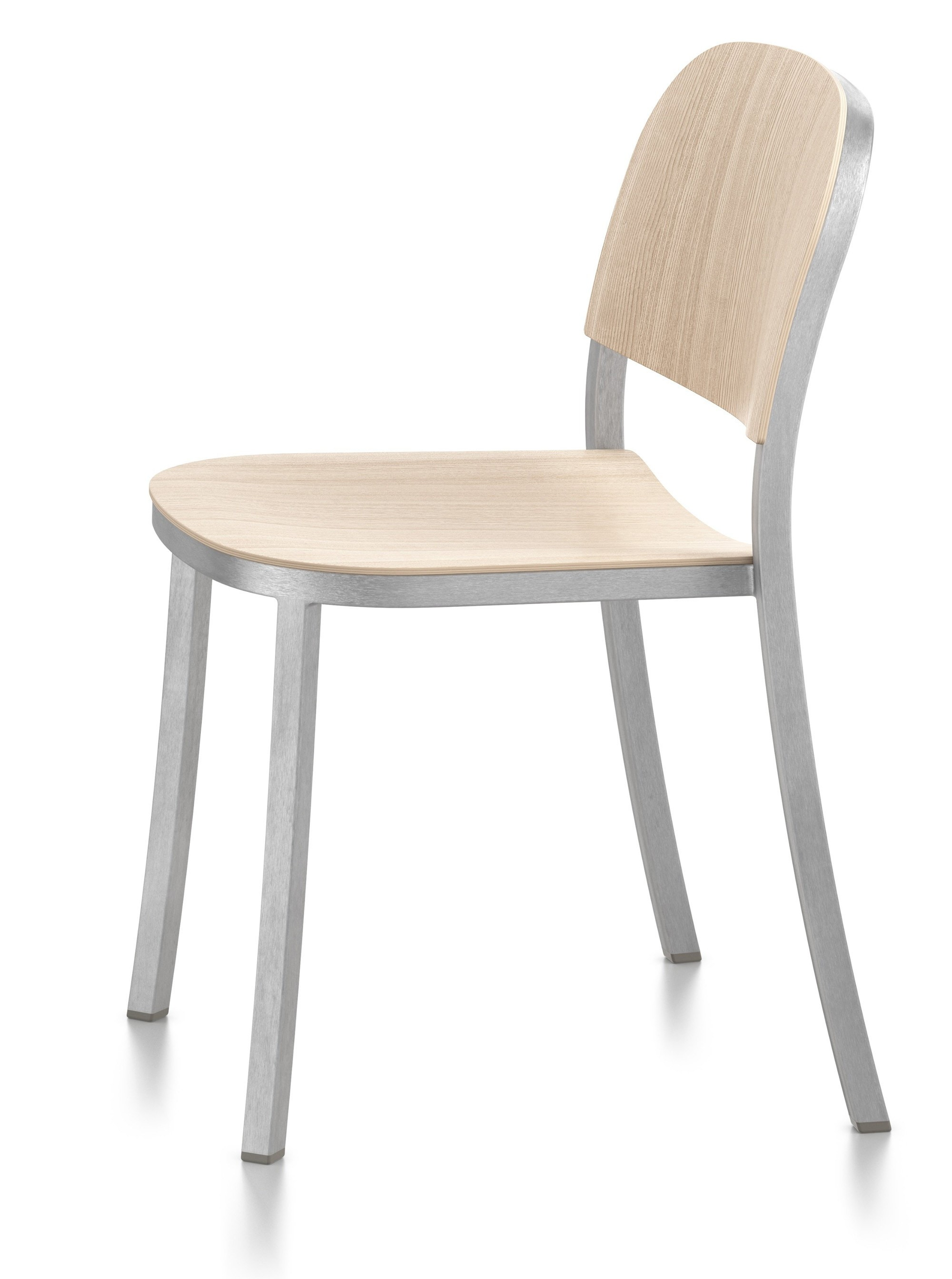 Emeco 1 INCH Stacking Side Chair By Jasper Morrison (On Production Hold)