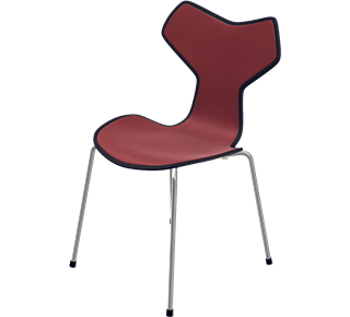 Fritz Hansen Grand Prix™ Chair (Front Upholstered)