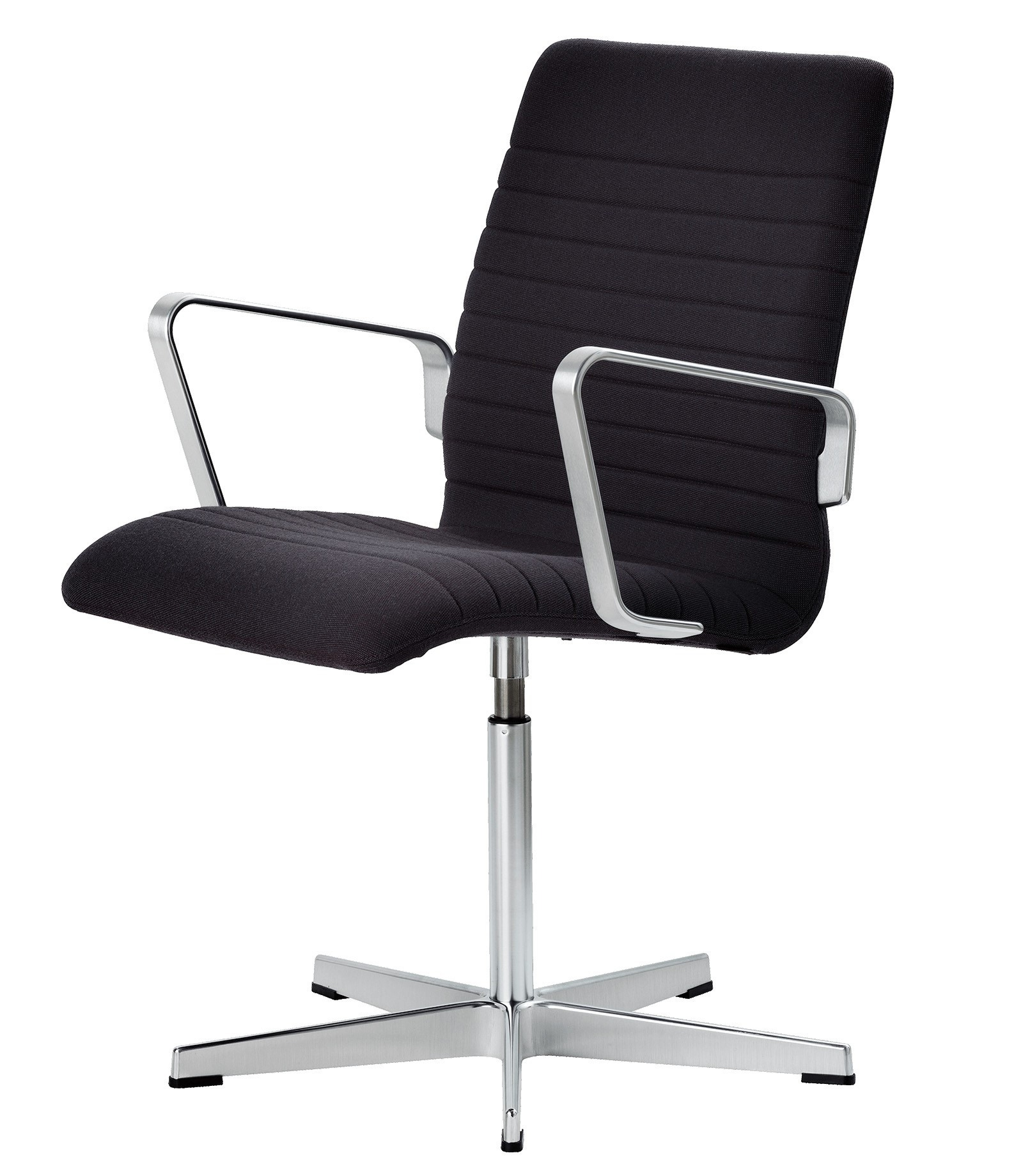 Fritz Hansen Oxford Premium Low Back Chair, Fixed Seat Height with Toes