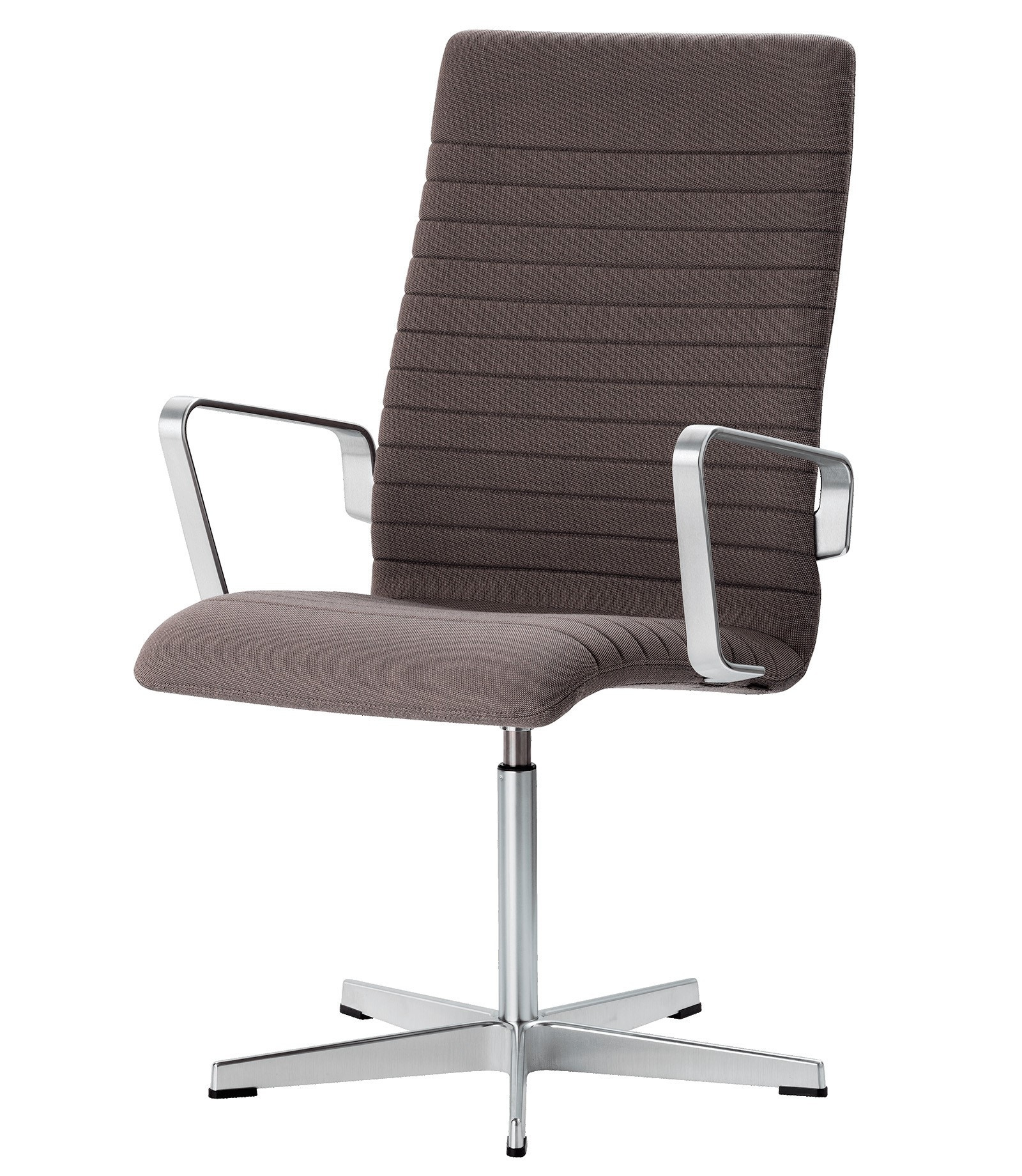 Fritz Hansen Oxford™ Premium Medium Back Chair, Fixed Seat Height with Toes