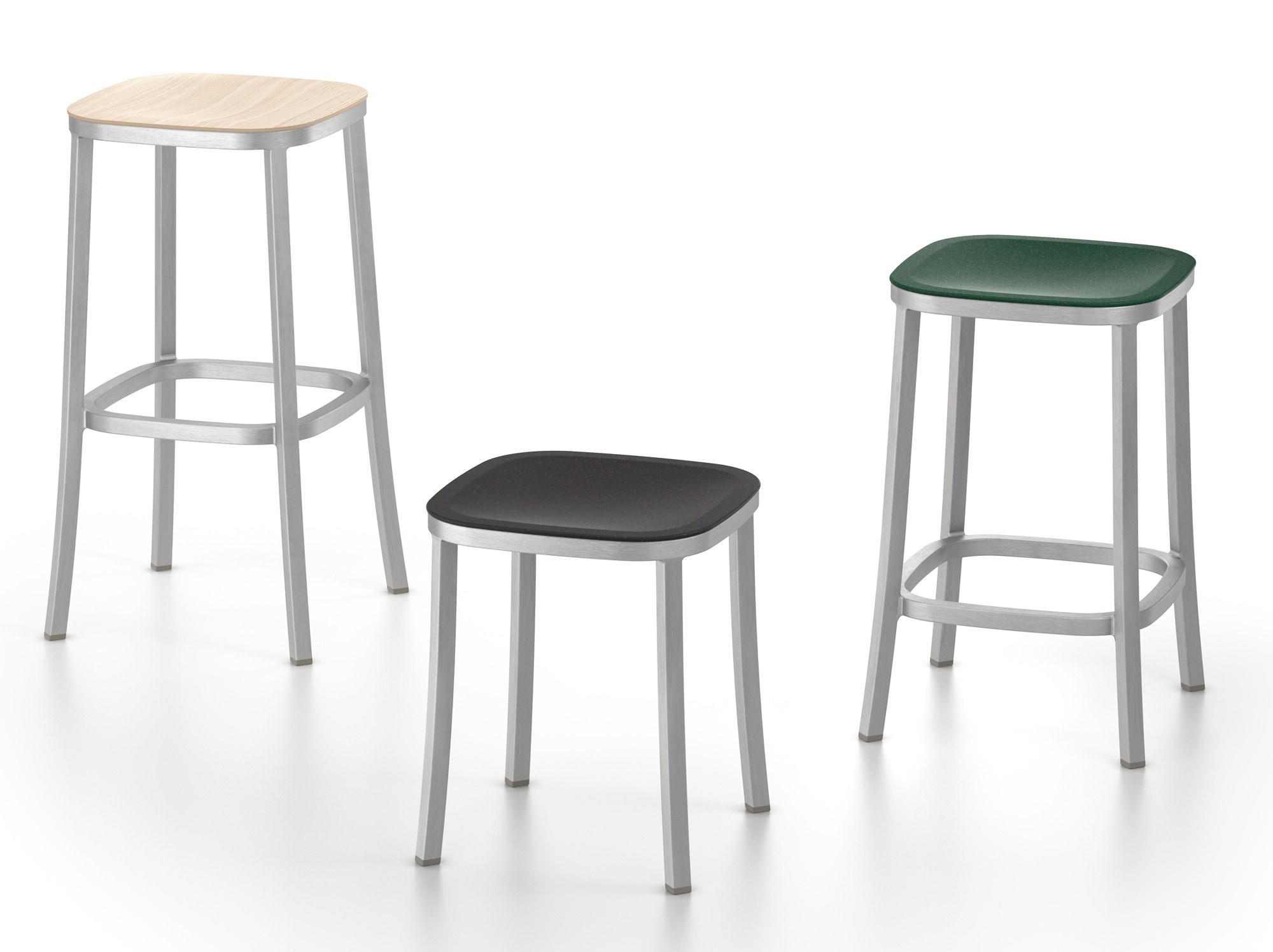 Emeco 1 INCH Stool By Jasper Morrison (On Production Hold)