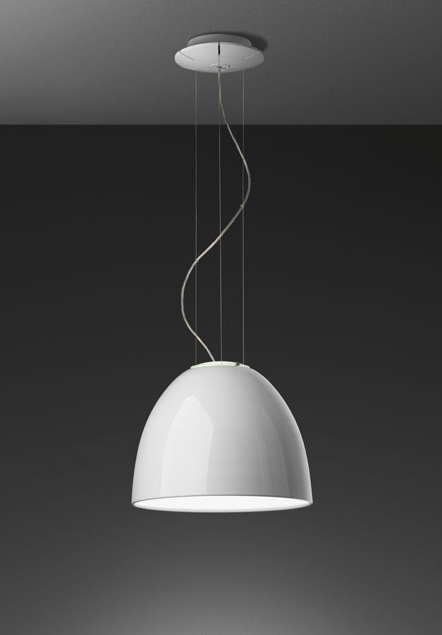Artemide Nur Mini Gloss Suspension Lamp