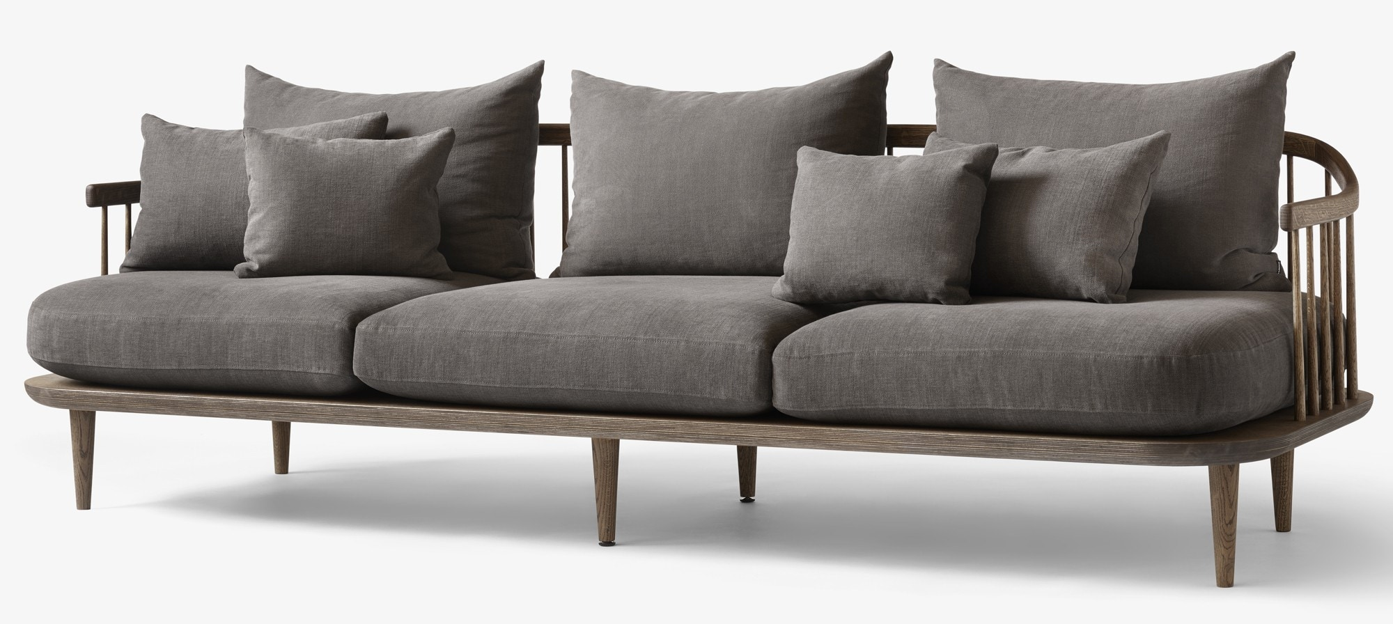 &tradition Fly SC12 Three Seater Sofa (Hot Madison Fabric)