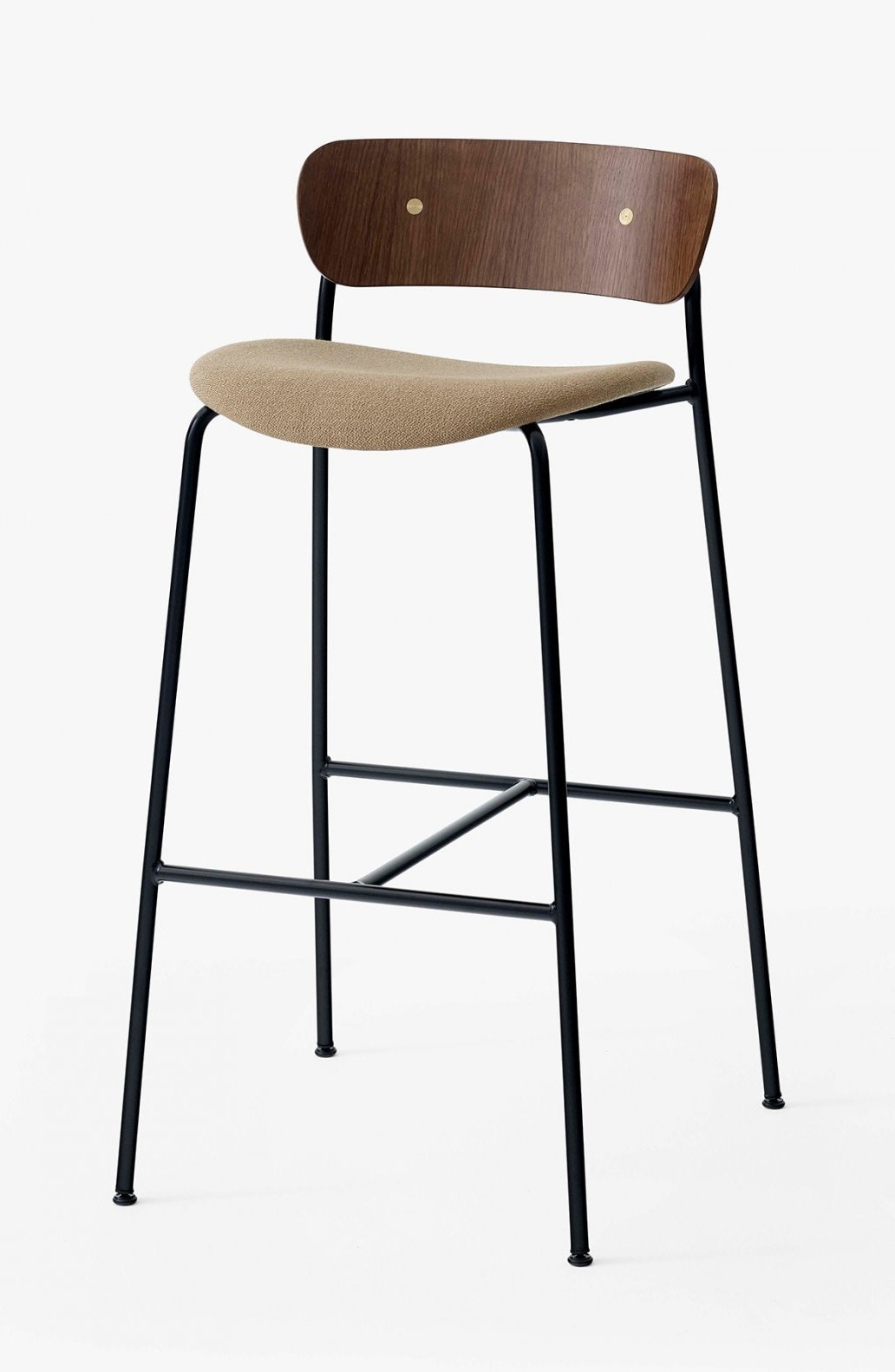 &tradition Pavilion AV10 Bar Stool - Upholstered Seat