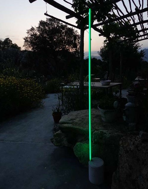 Antonangeli Archetto Shaped F13 Outdoor Floor Lamp