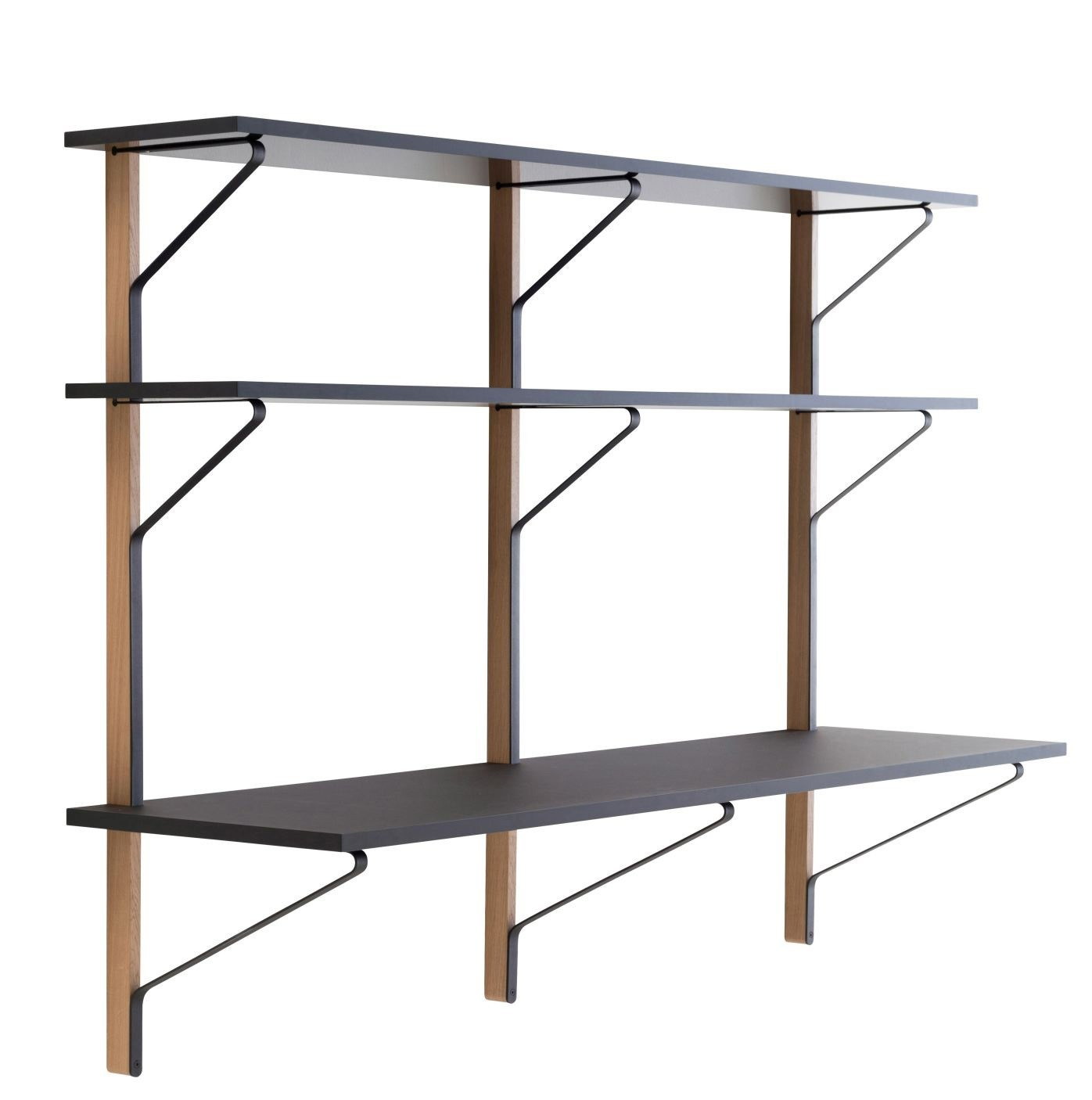 Artek REB 013 Kaari Wall Shelf with Desk