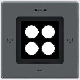 Artemide Ego 150 Downlight Square Recessed Ceiling Lamp (o)