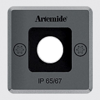 Artemide Ego 55 Downlight Square Recessed Ceiling Lamp (o)