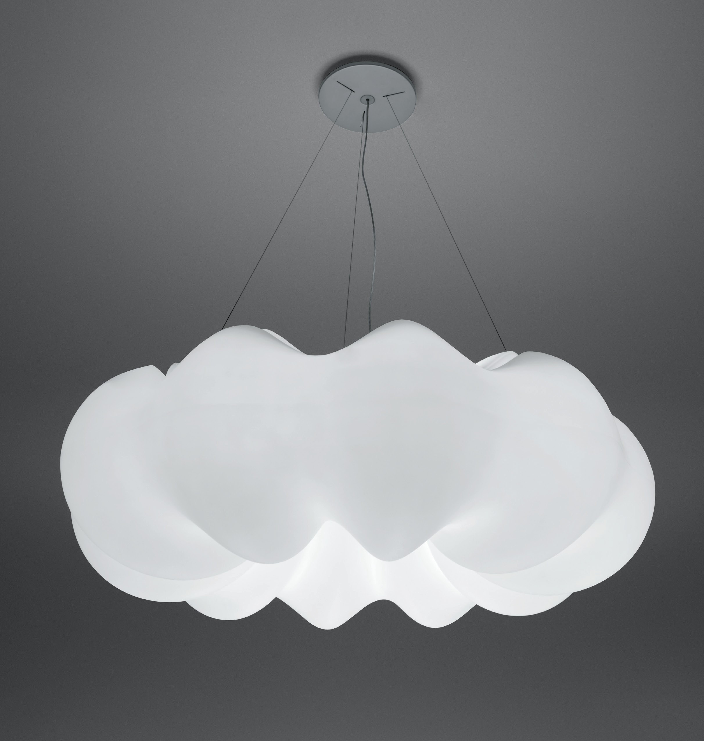 Artemide nuboli suspension lamp o modern planet for Suspension designer