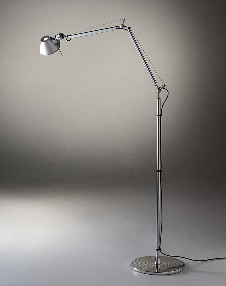 artemide tolomeo mini floor lamp modern planet