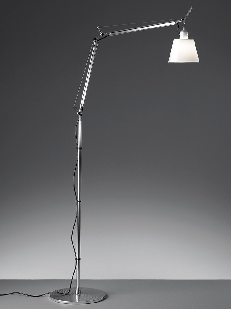 Artemide Tolomeo with Shade Floor Lamp