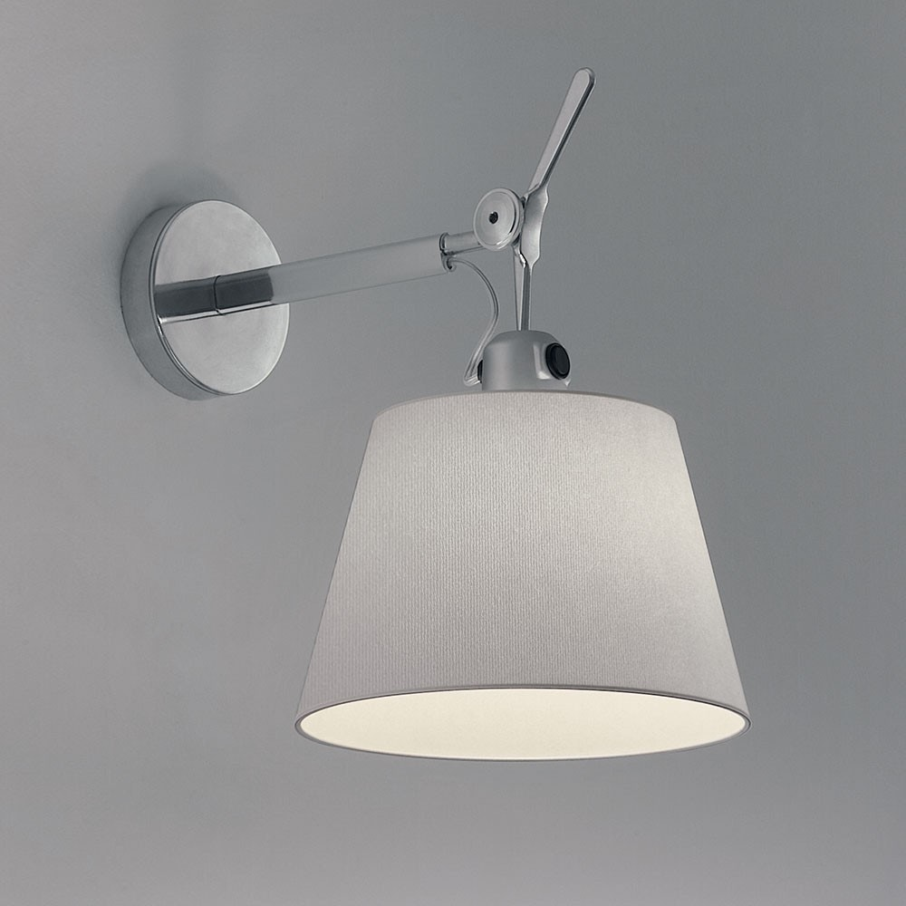 artemide tolomeo shade wall lamp modern planet