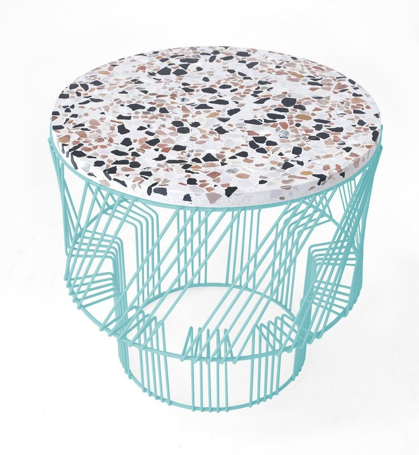 Bend Goods Concrete Side Table