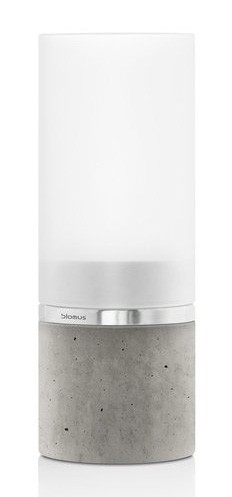 Blomus Faro Wide Tealight Holder with Concrete Base