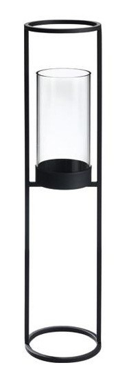 Blomus Nero Floor Pedestal Candle Holder