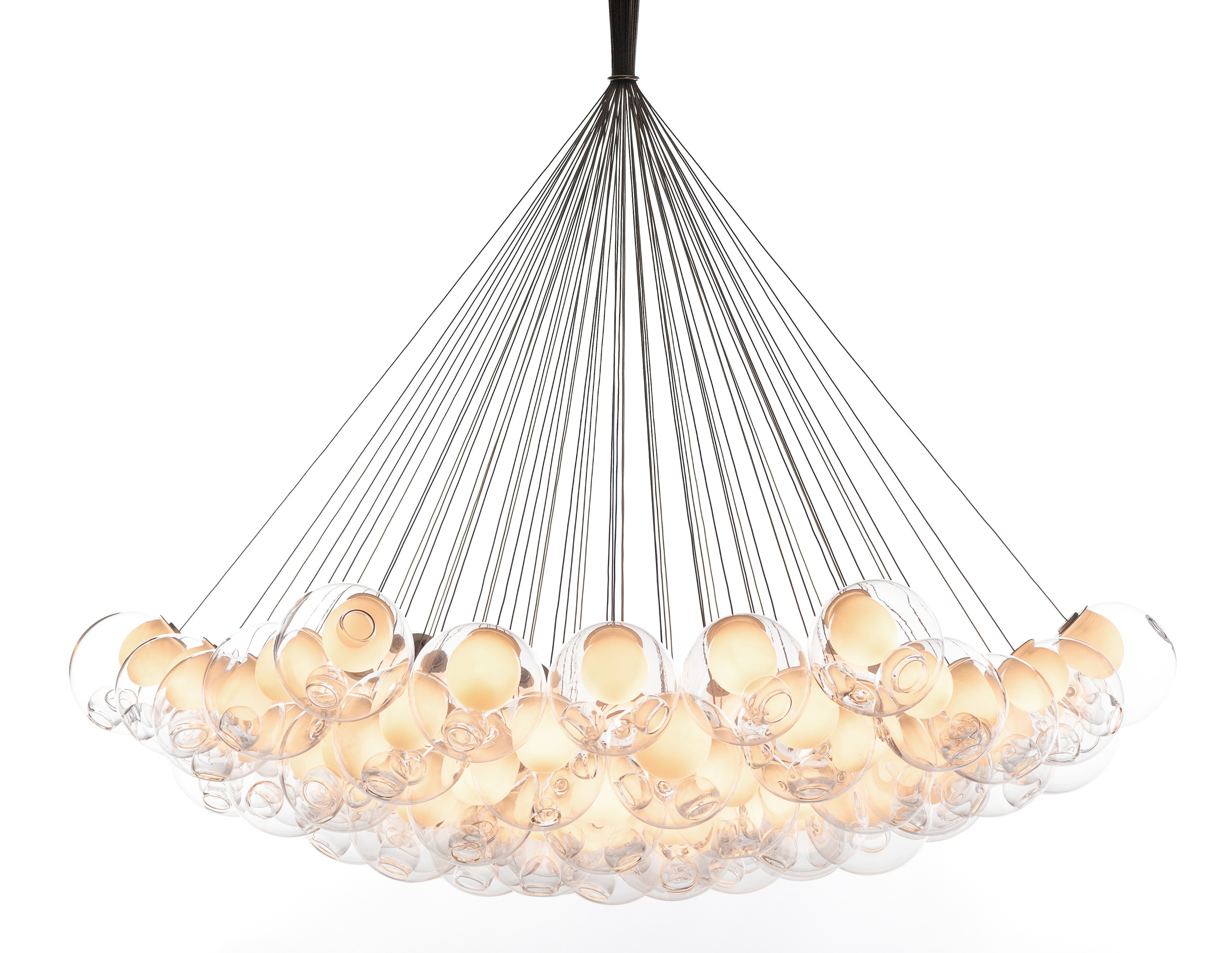 Bocci 28 61 Cluster Chandelier Light Modern Planet