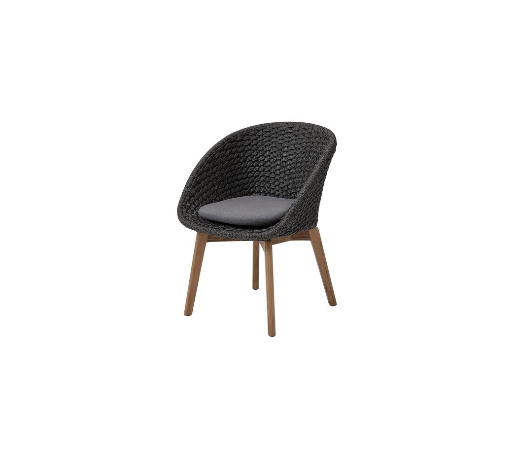 Cane-Line Peacock Chair, Soft Rope (Priced Each, Sold In Sets Of 2)