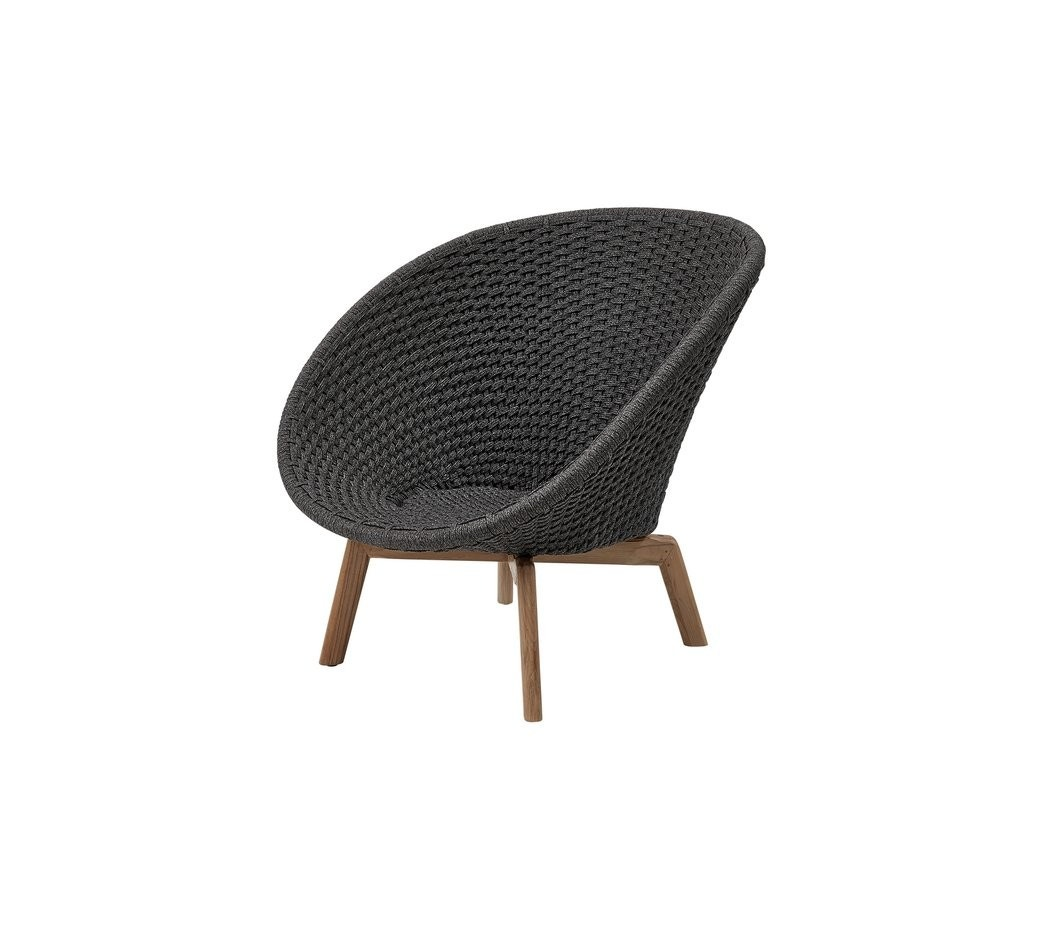 Cane-Line Peacock Lounge Chair, Cane-Line Soft Rope (5458)