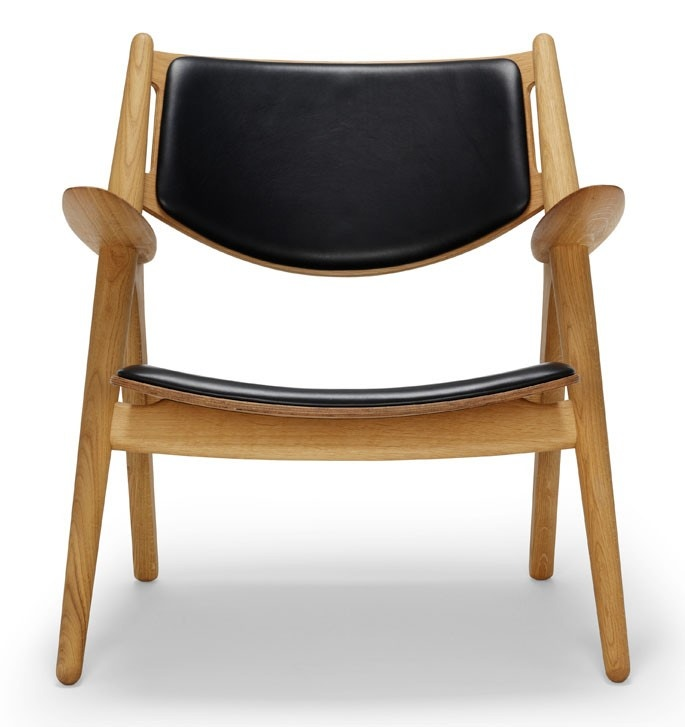 Carl Hansen & Son CH28P Lounge Chair - Upholstered