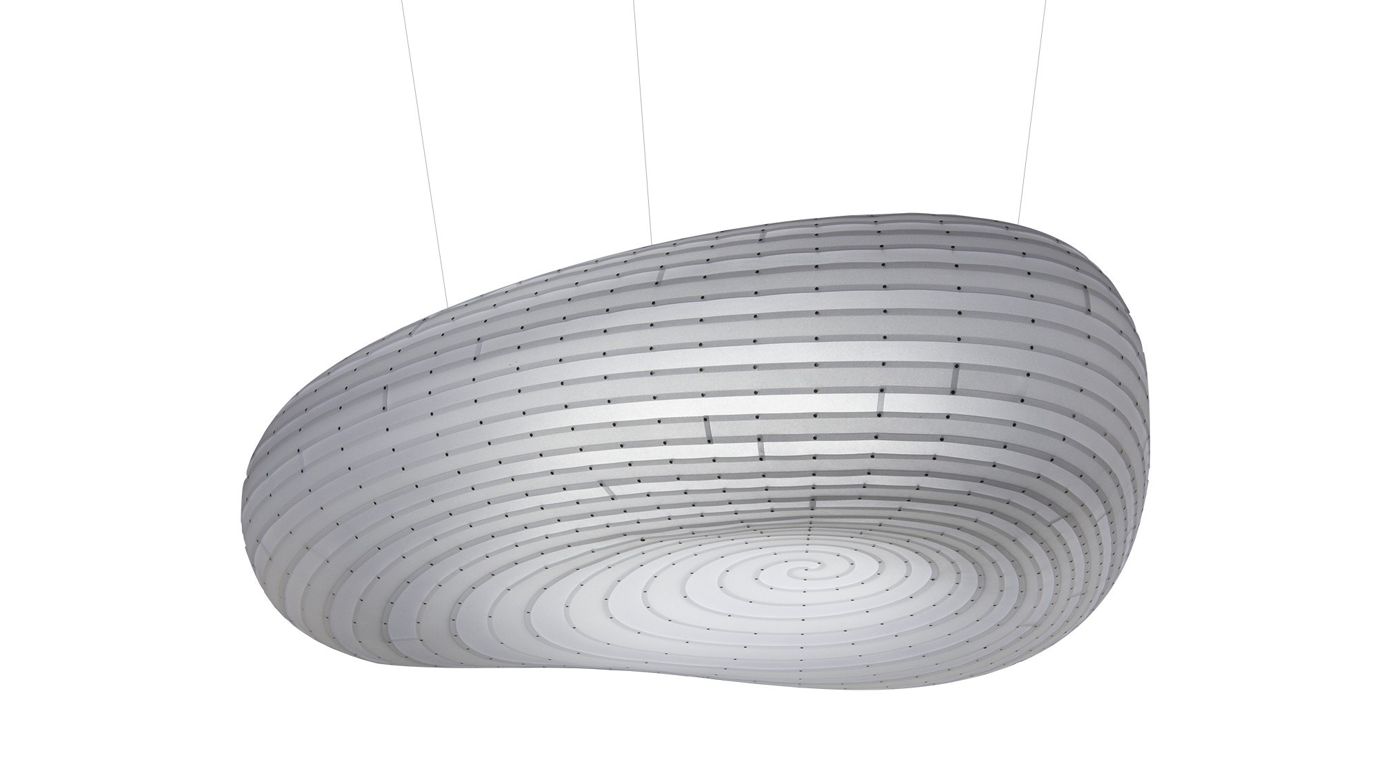 David Trubridge Cloud Pendant Light