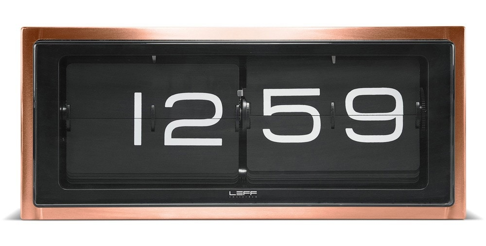 Leff Amsterdam Brick Wall / Desk Clock