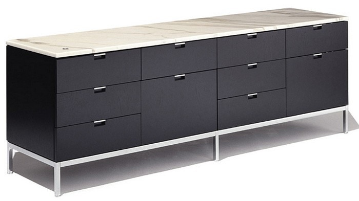 Knoll Florence - Credenza - Four Position (Eight Box Drawers)