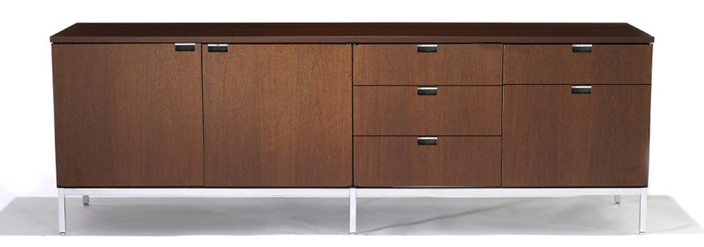 Knoll Florence - Credenza - Four Position (Four Storage Cabinets) Style 3